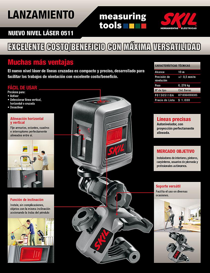 Emailmarketing Nivel laser SKIL 511